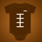 Sports Illustrated Football Onesie